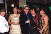 ...hottest party Kalahari Horse Whisperer..Dean Bentley & Ansie, Anita from South Africa