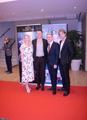 Monaco opening Red -carpet with upcoming actress Maja Simonsen, actor Kristian Herlev, director, producer Mads & Chris Ostergaard Holm