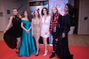 Red Carpet at the Angel Film Awards- Monaco International Film Festival evening soiree les belle actresses
