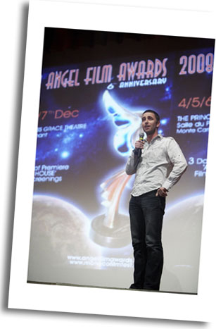 Bryan Moses Best Original Short Story 'MAKE UP' an Angel Film Award Winner all the way from Australia to Monaco